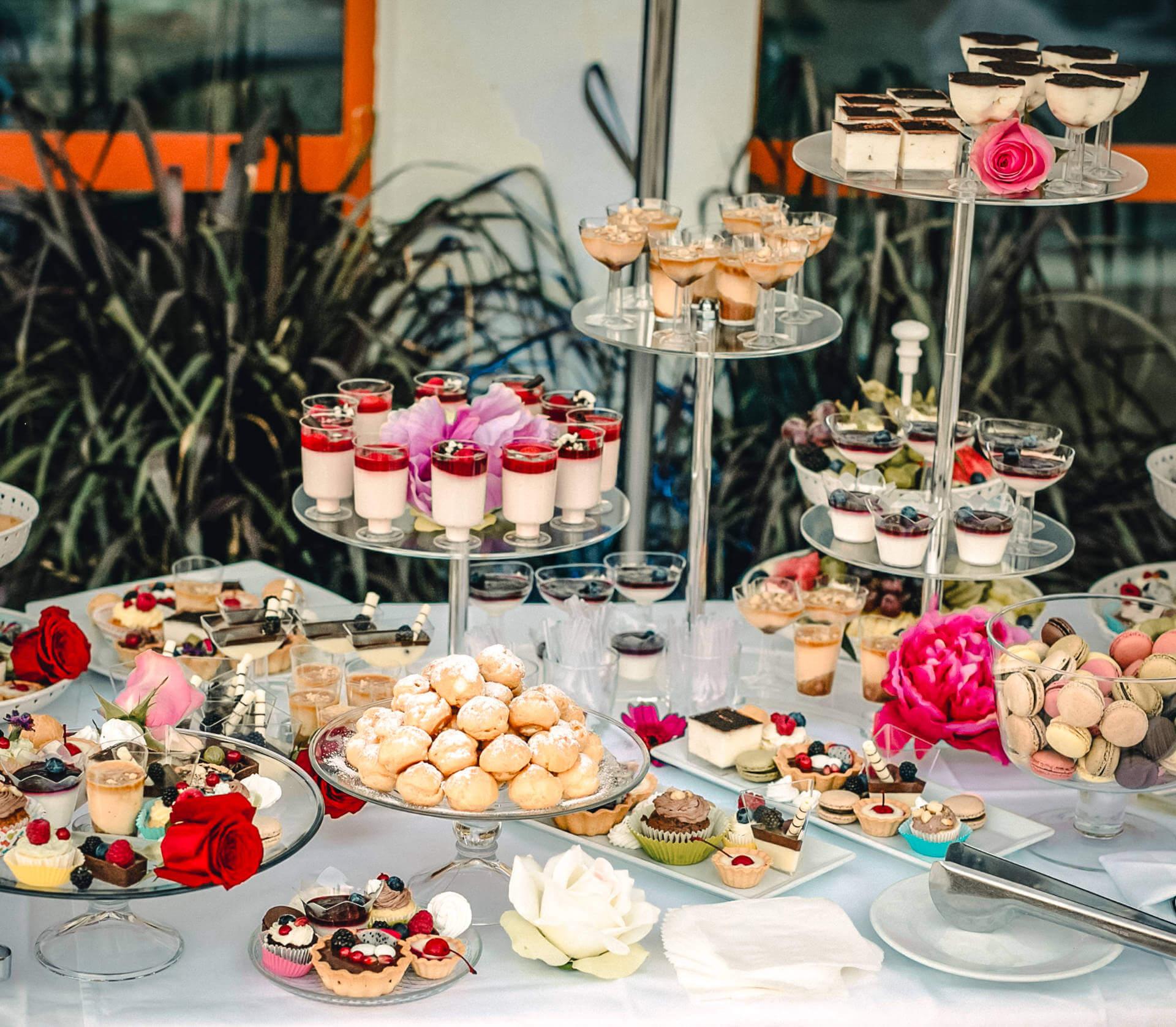 Hotelová reštaurácia Kaskady - sladkosti