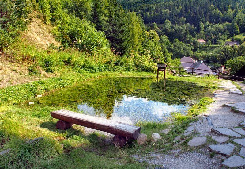 Mining educational path in Špania Dolina
