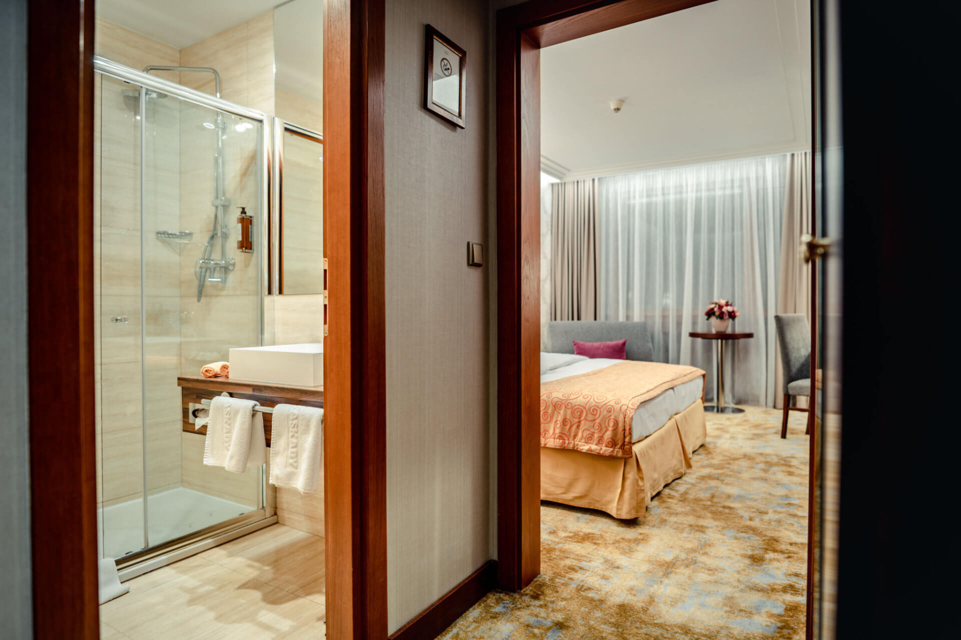 Double room in Lux design