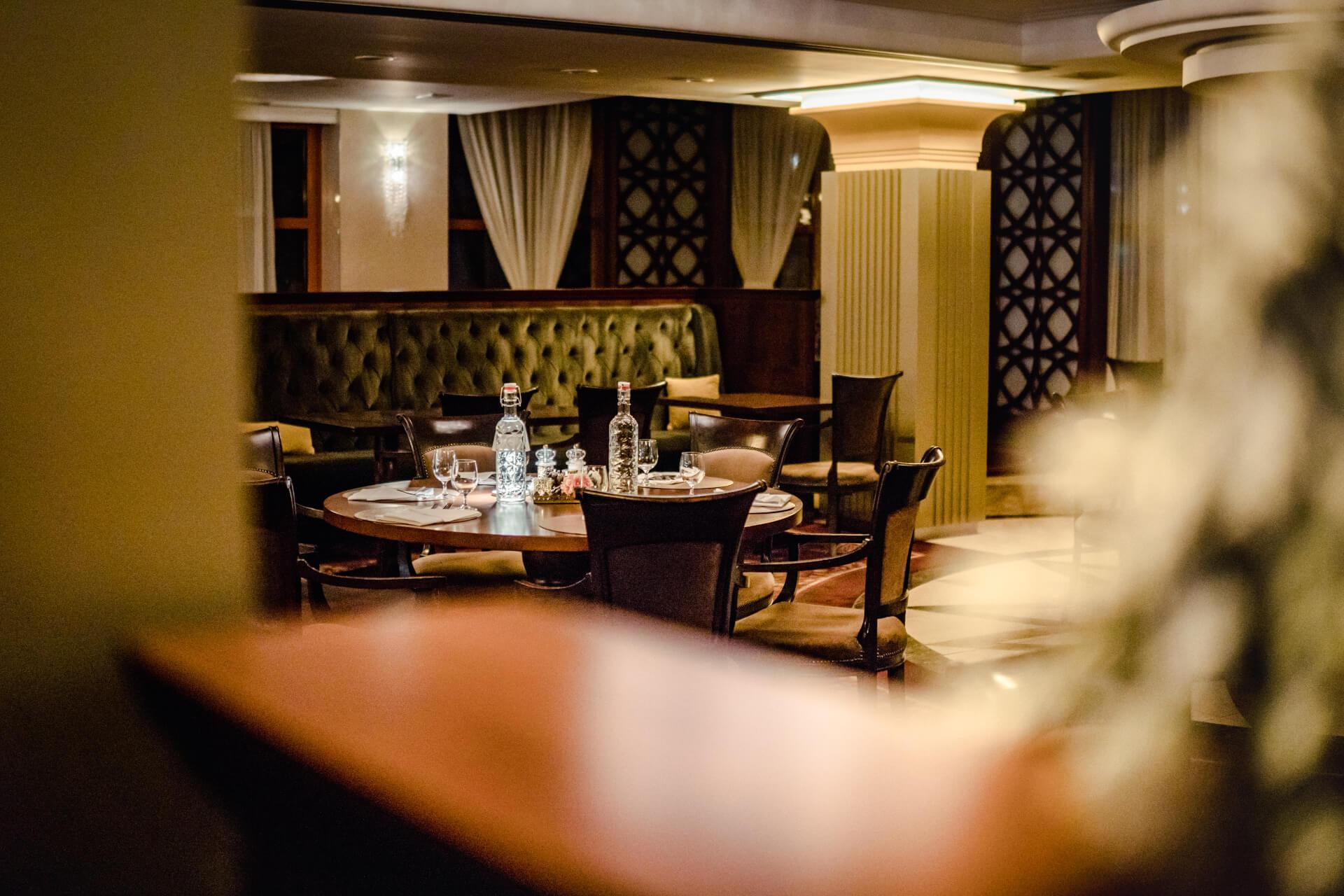 A stylish Lobby bar with a pleasant atmosphere is always a good choice.