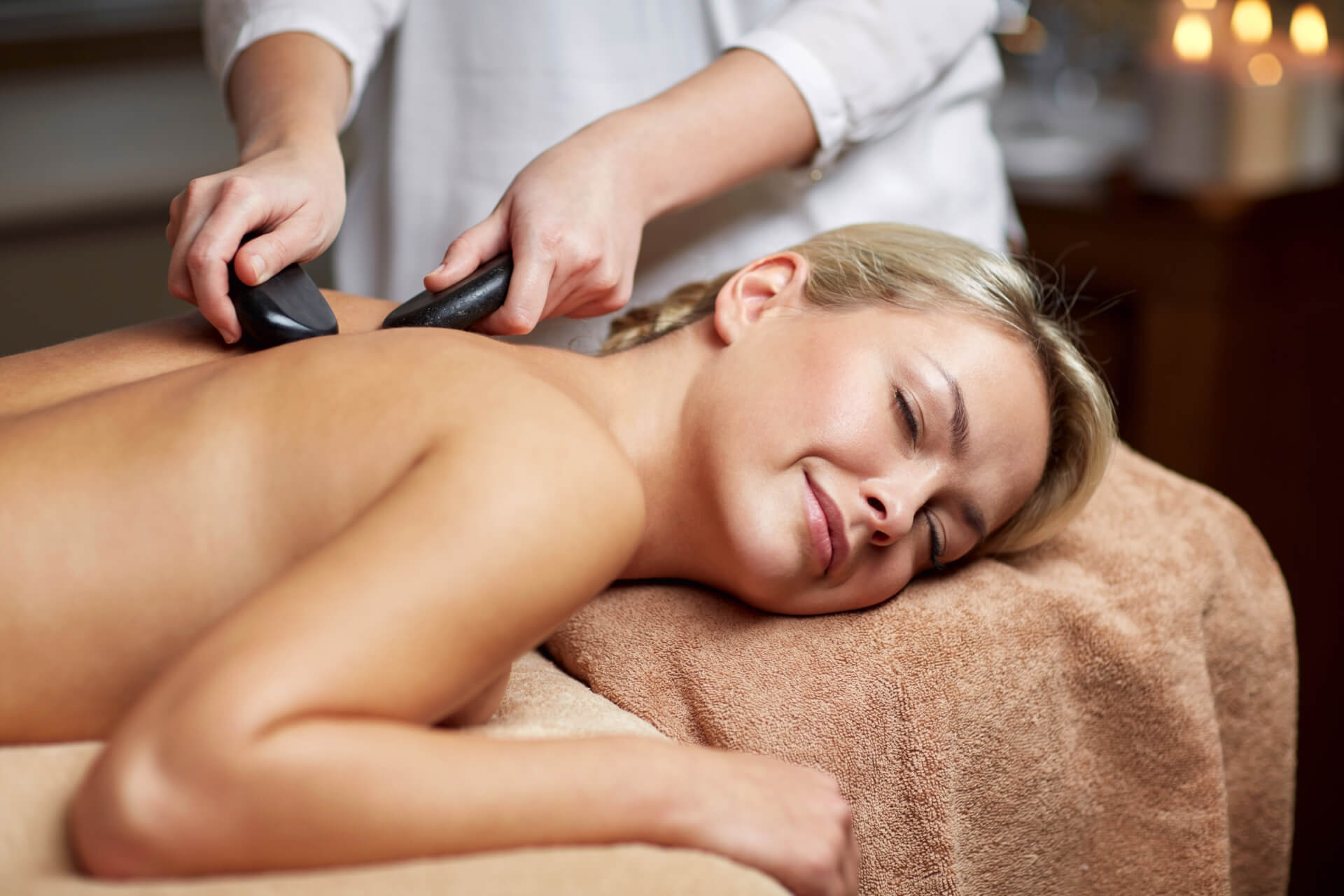 Aroma treatment of the whole body