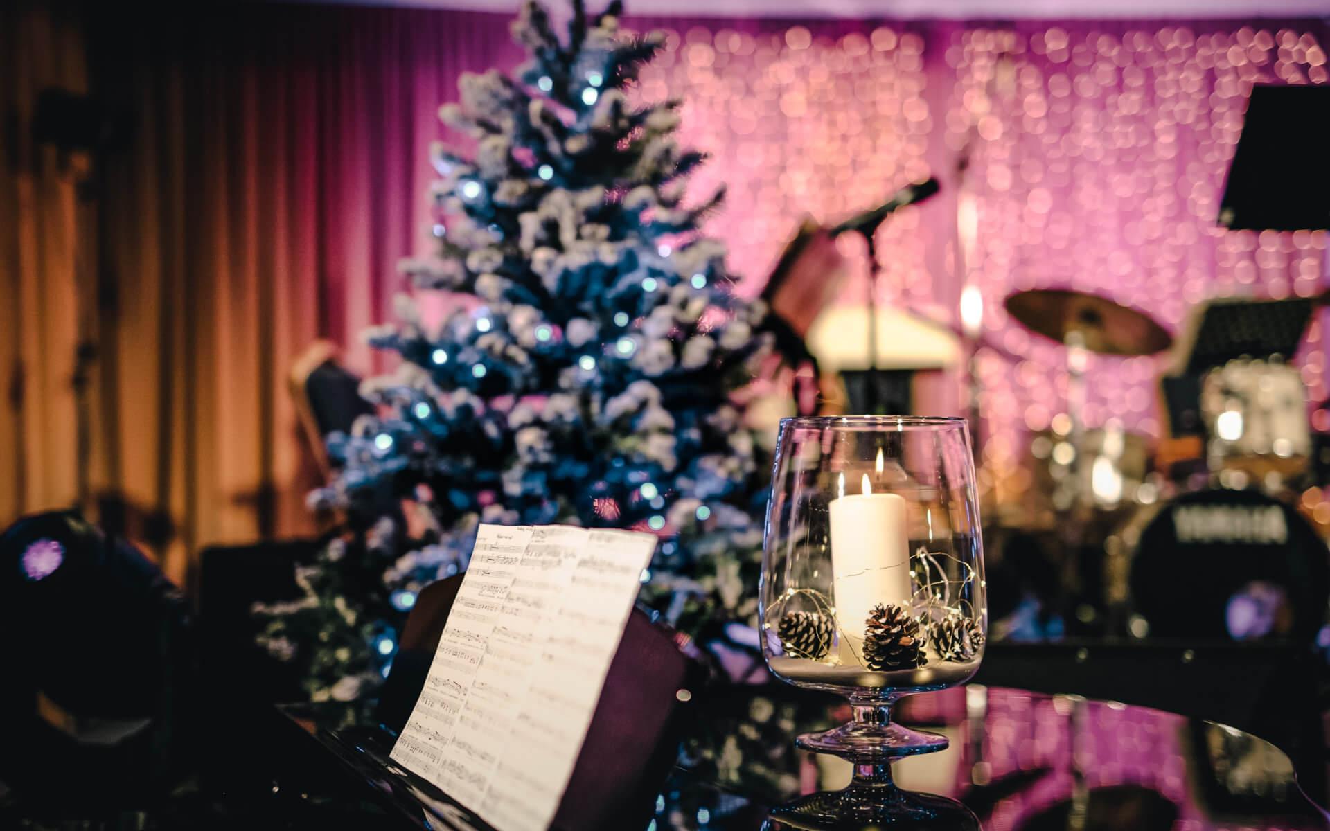 Event, podujatie v resorte Kaskady - vianočná výzdoba