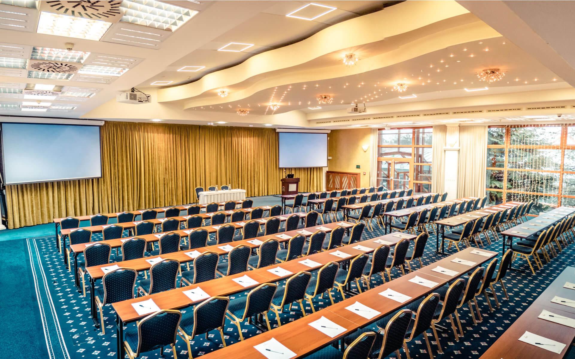 Palas Atena Kaskady - konferenčná, kongresová sála na prenájom pre eventy