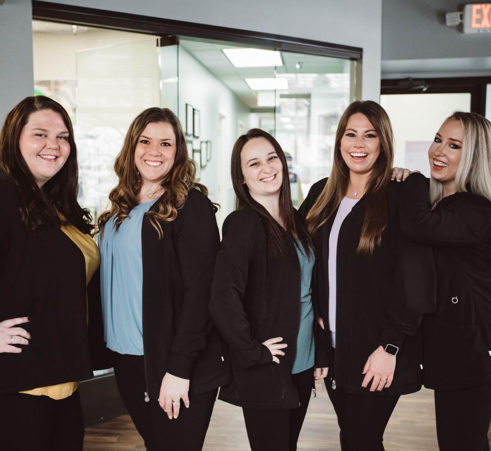 Photo of the Edgewood internal team