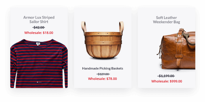 Front End Discount Display Example