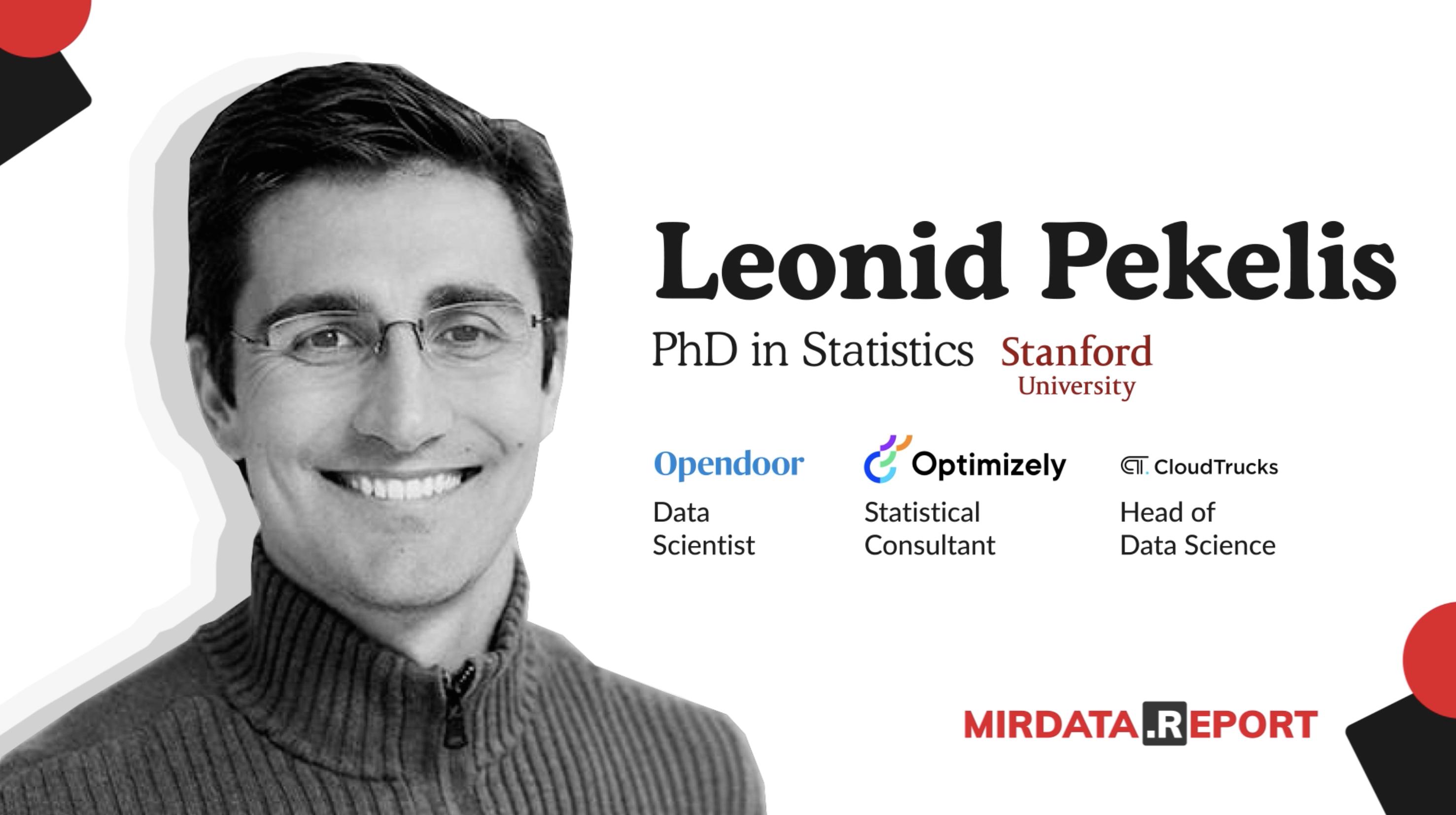Leonid Pekelis Data Talk