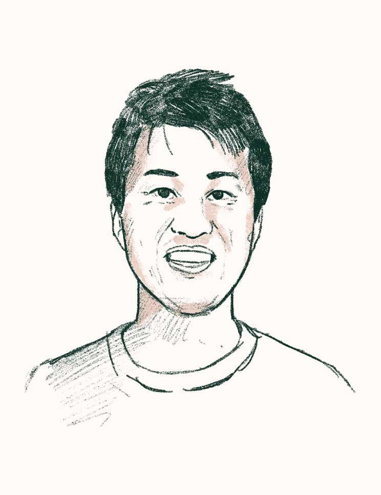 Leo Sanada sketch illustration