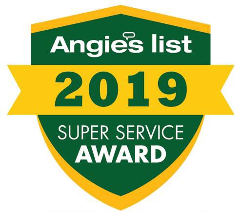 Angie's List Award 2019.