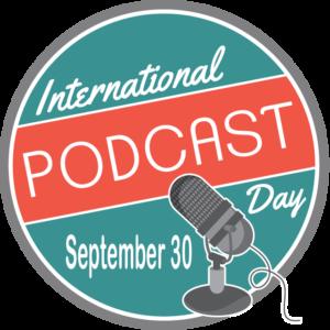International Podcast Day September 30 logo