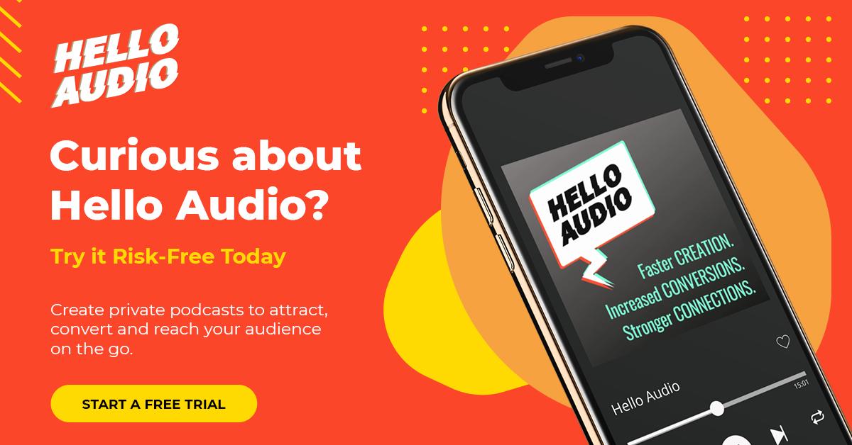 Hello Audio Trial Banner