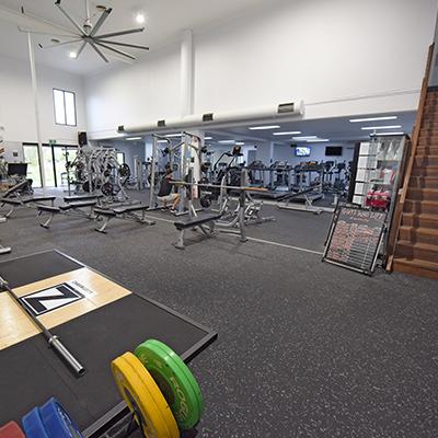 image of main gym area