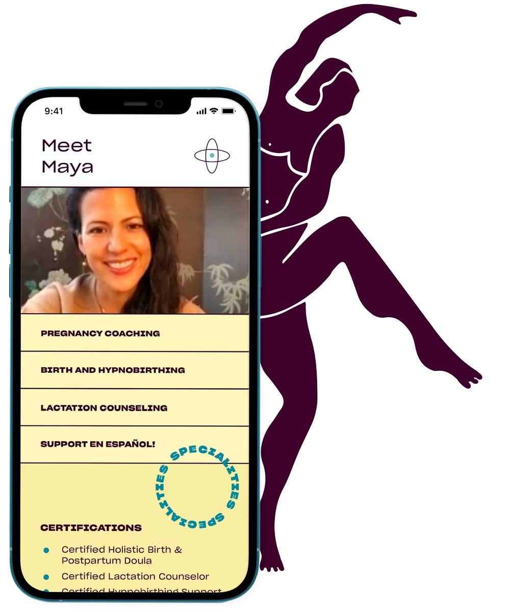 Seven Starling pregnancy membership pros on mobile