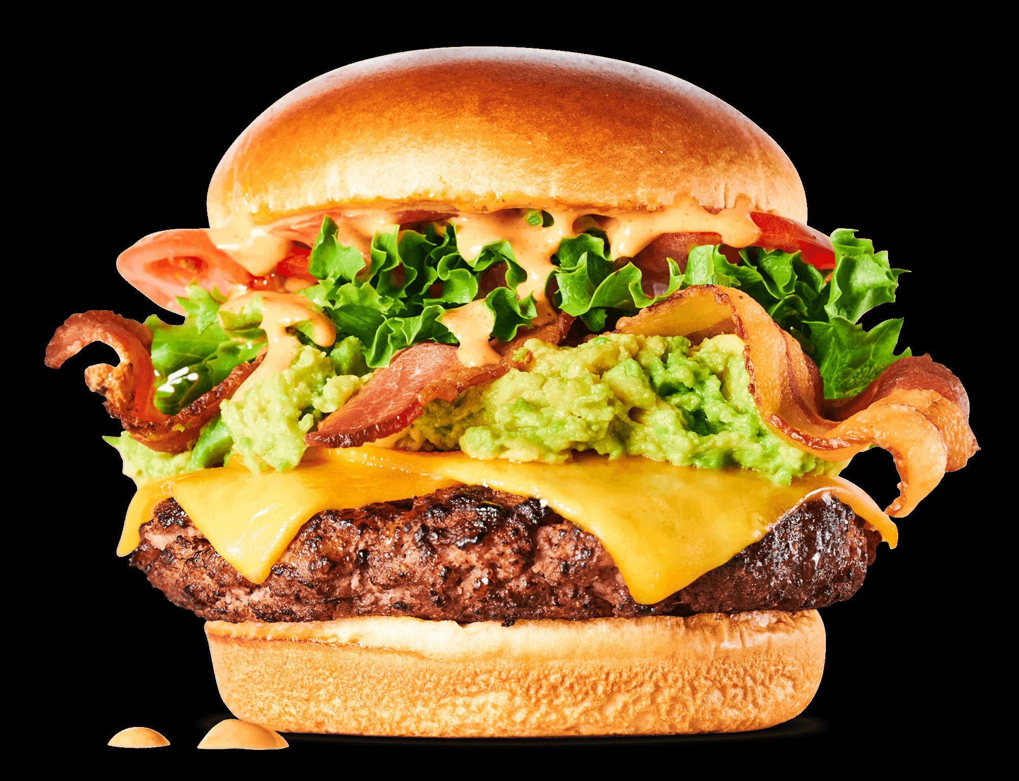 The Trailblazer Burger by Crave Burger