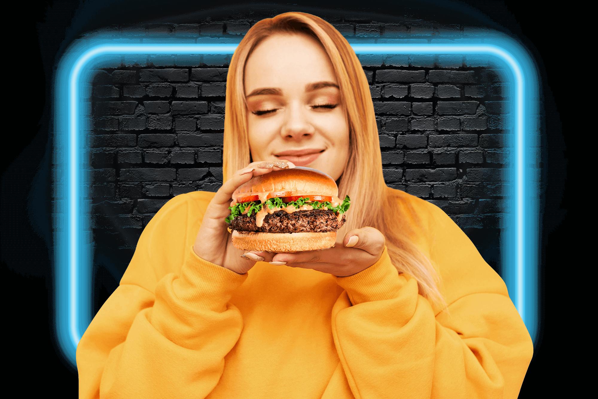 Crave Burger Happy Client