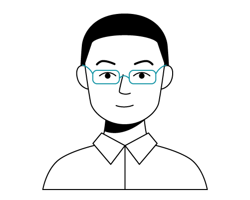 Illustration of Gene, Cabital's Chief Technology Officer