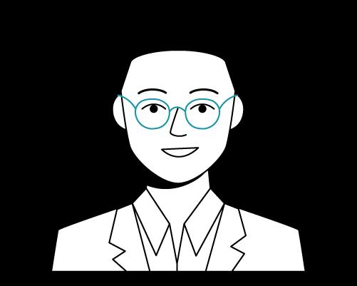 Illustration of Raymond, Cabital's CEO & Co-founder