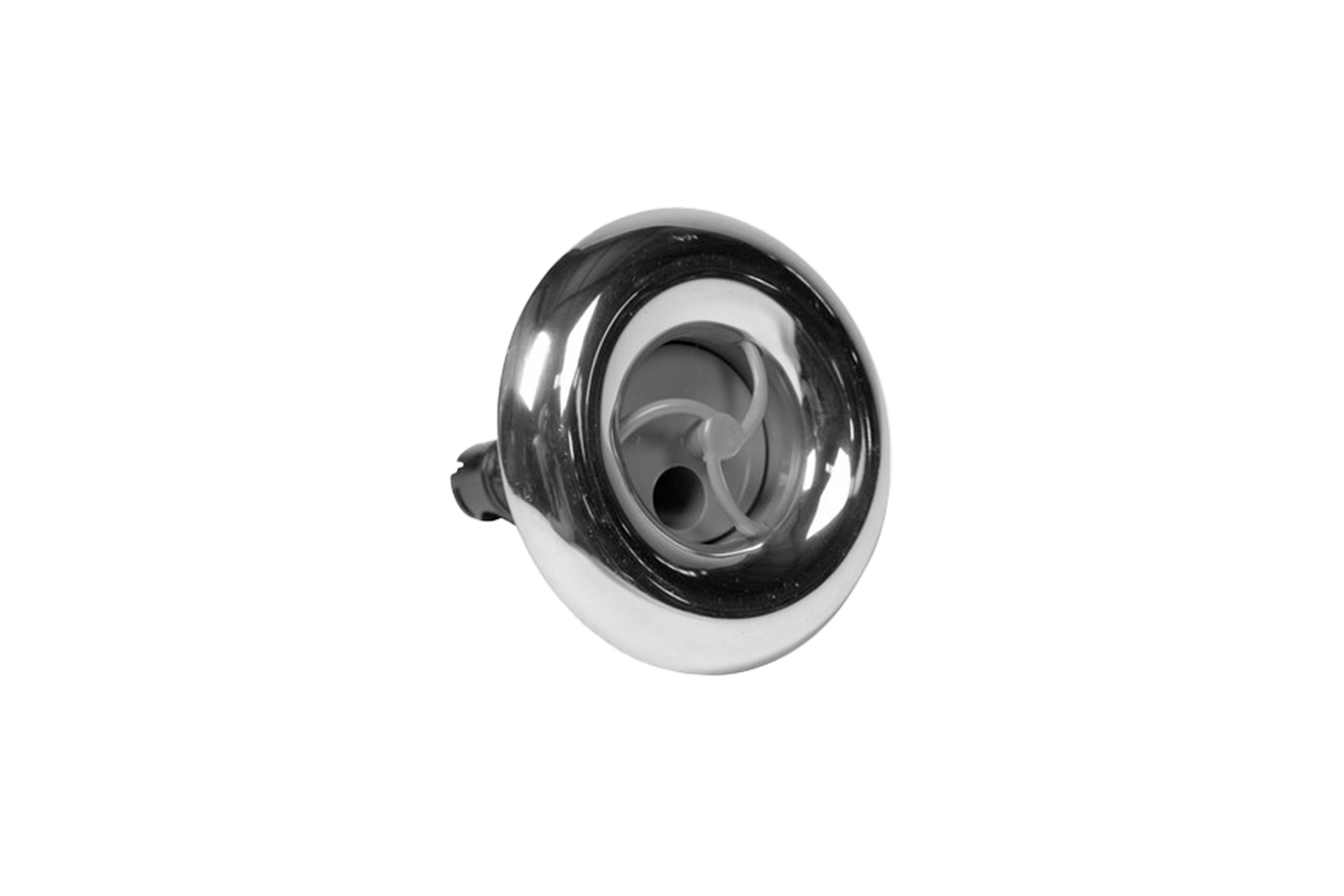 3 Swirl Spa Jet Covers- Stainless Steel