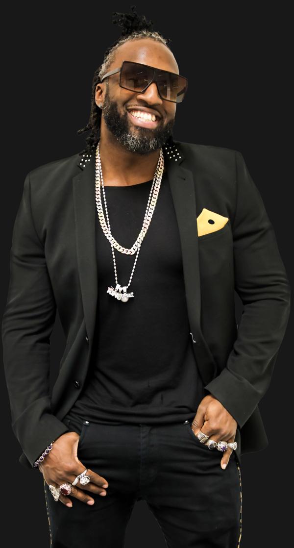 Trevor - singer with Detroit Soul Collective