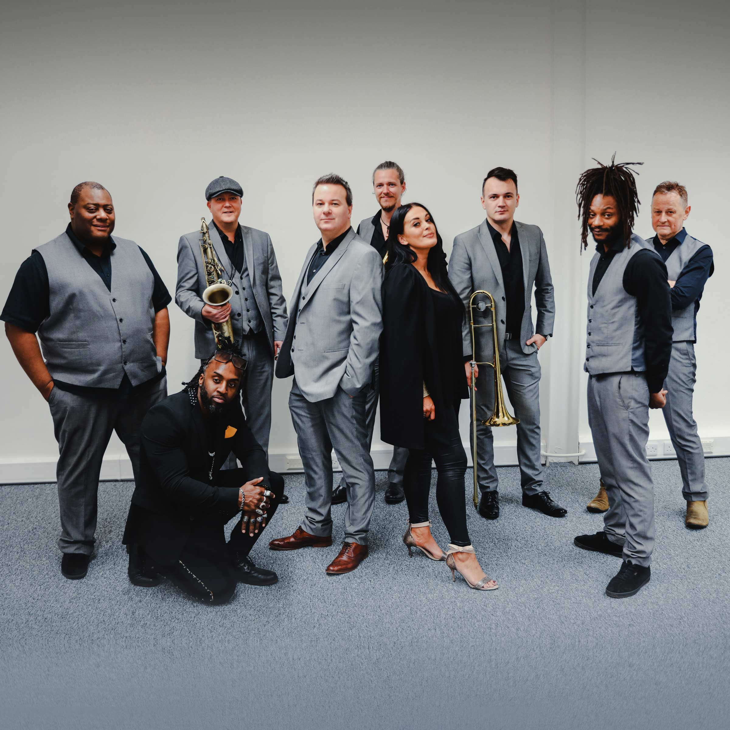 Detroit Soul Collective - 9 piece wedding band based in West Midlands