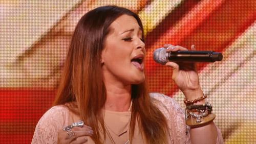 Vicki Nash on The X Factor