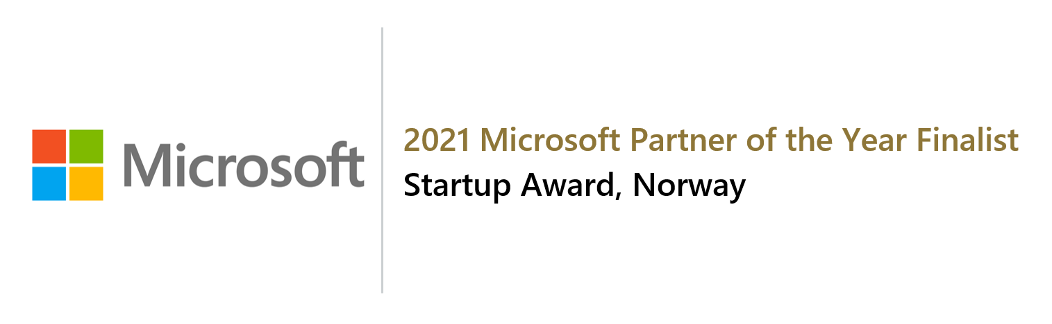 Völur recognized as Startup Partner of the Year 2021 finalist by Microsoft Norway