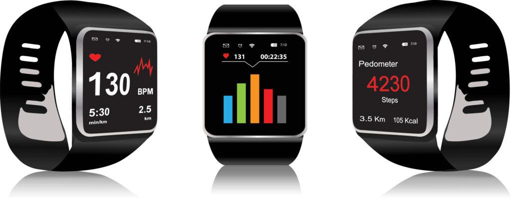 Различни приложения на смарт часовник
