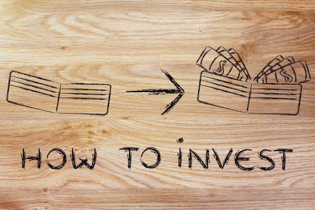 Концепцията за това, че ако инвестираме, портфейлът ни от празен ще стане пълен