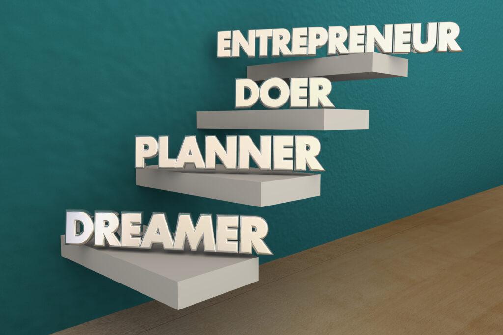 Стъпки, които извървява един предприемач