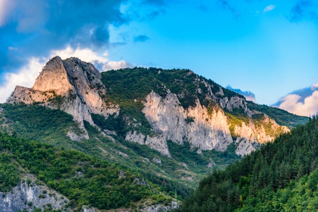 Красива гледка от Родопите