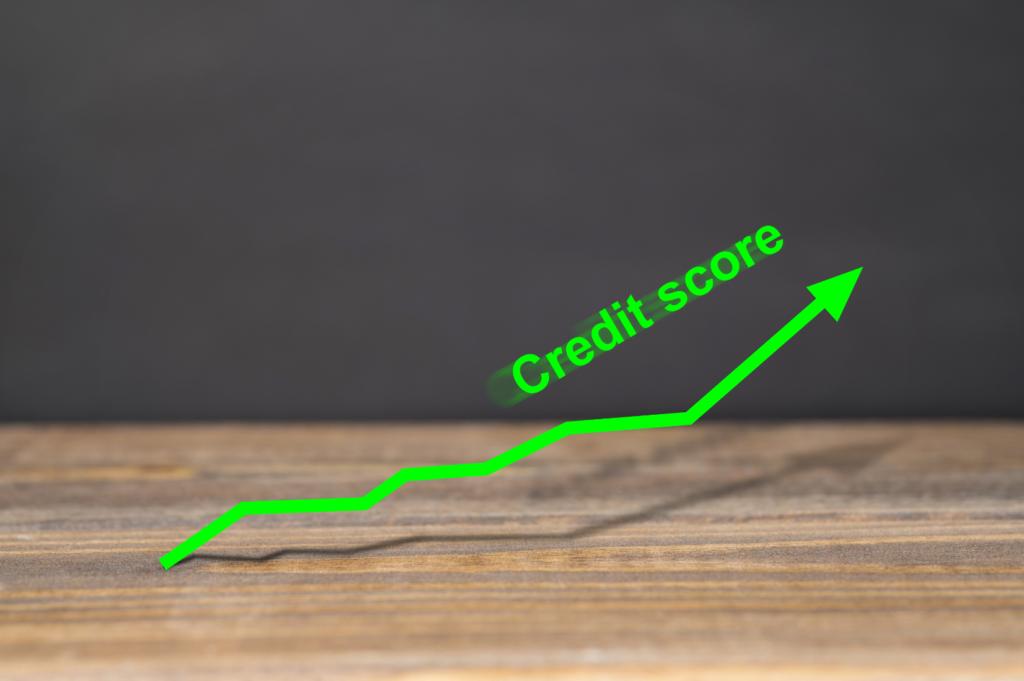 Тренд на кредитна оценка, показващ наличие на добра кредитна история