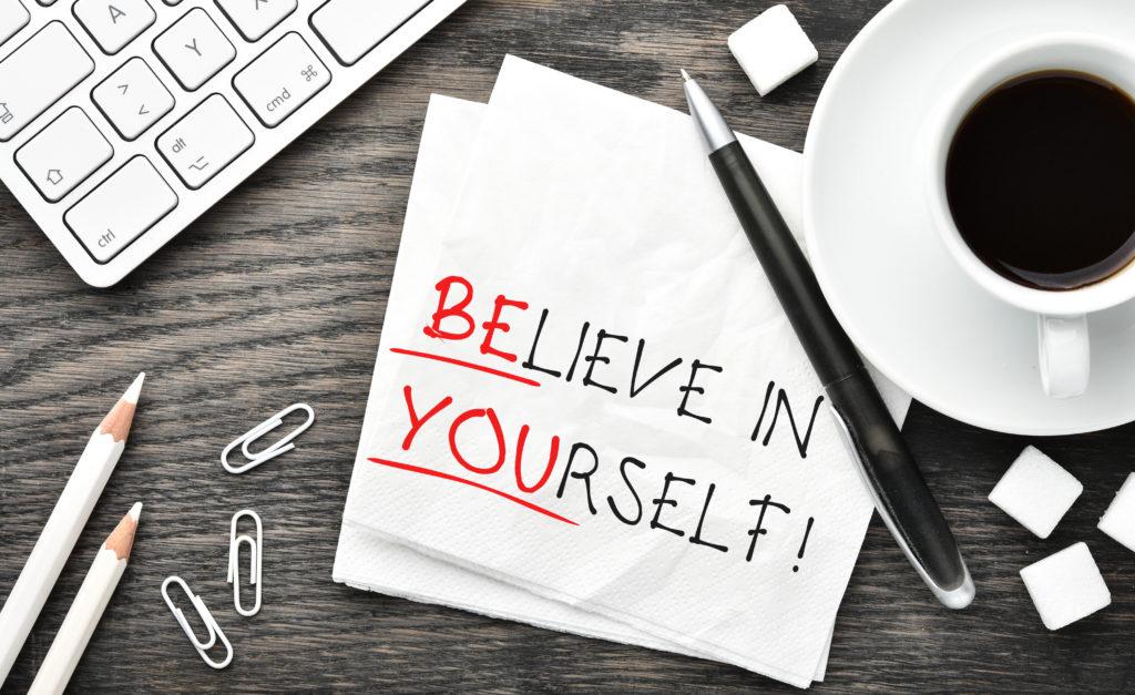 Да бъдем успешни, вярвайки в себе си