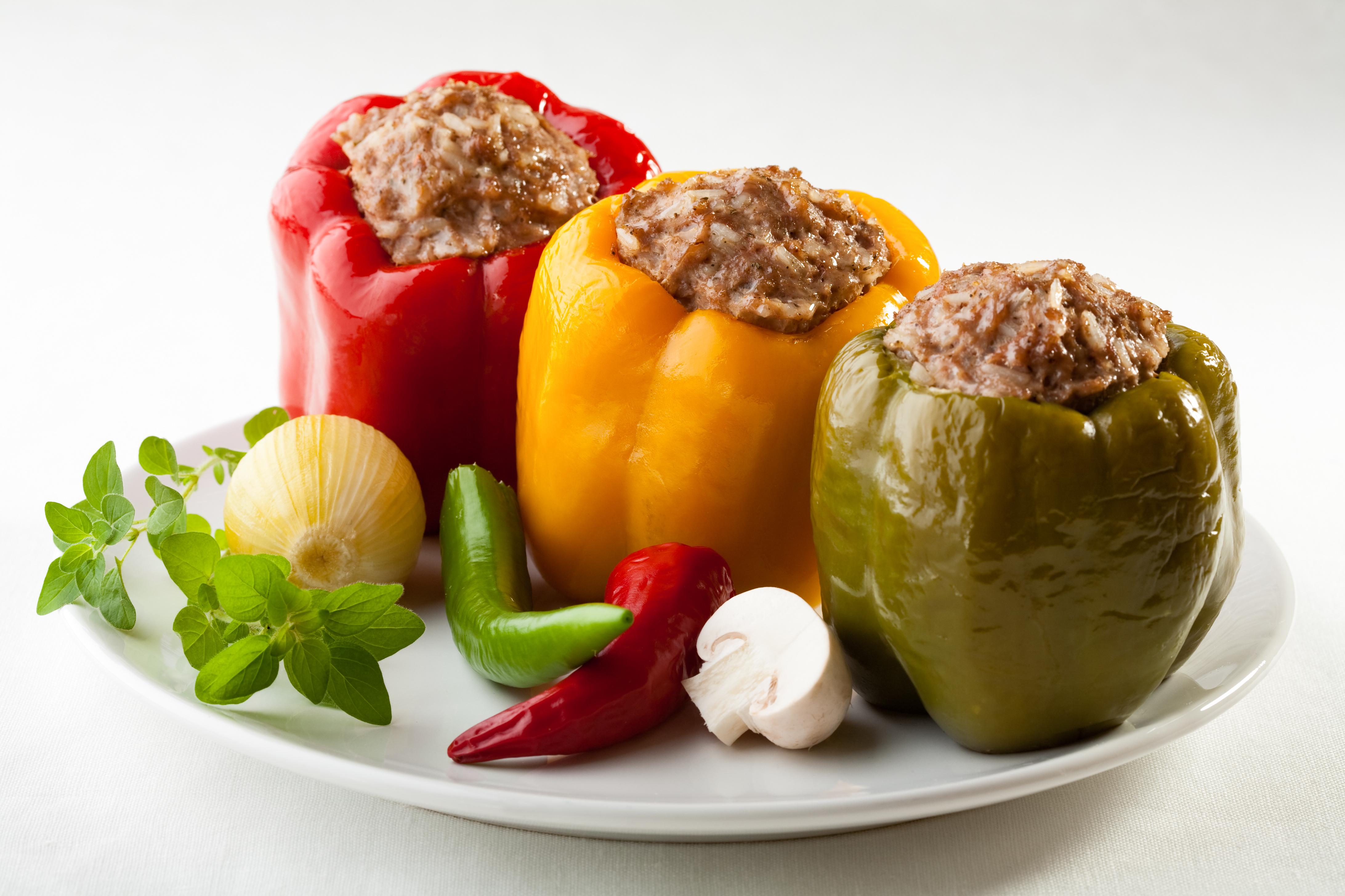Традиционни български храни - пълнени чушки