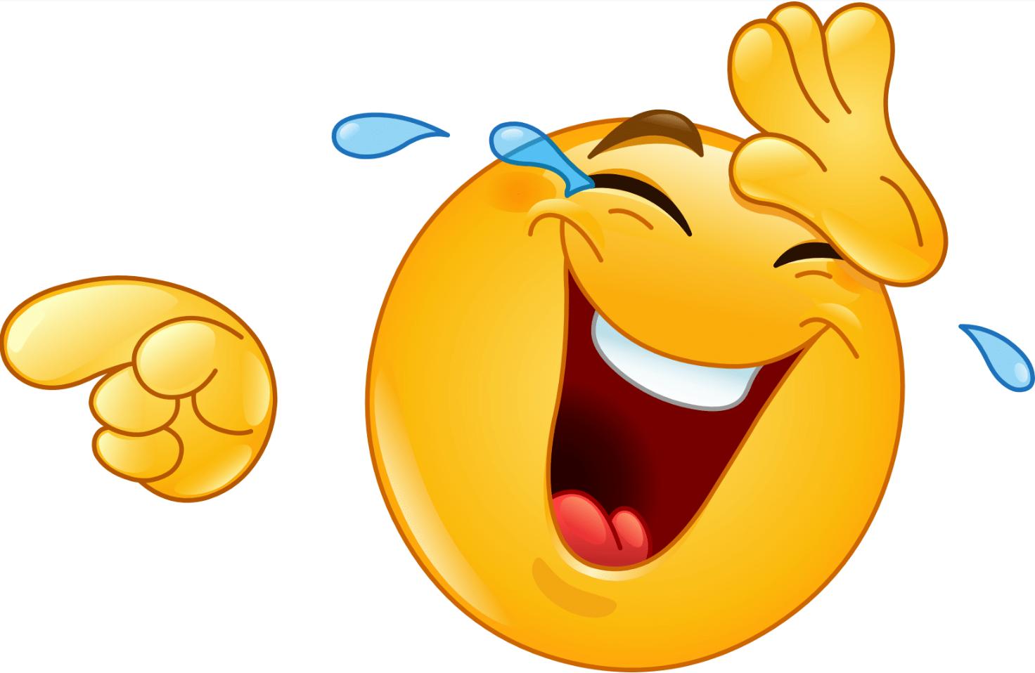 Шегите са присъщи от дълги години за 1 април - емотиконка на смеещо се човече