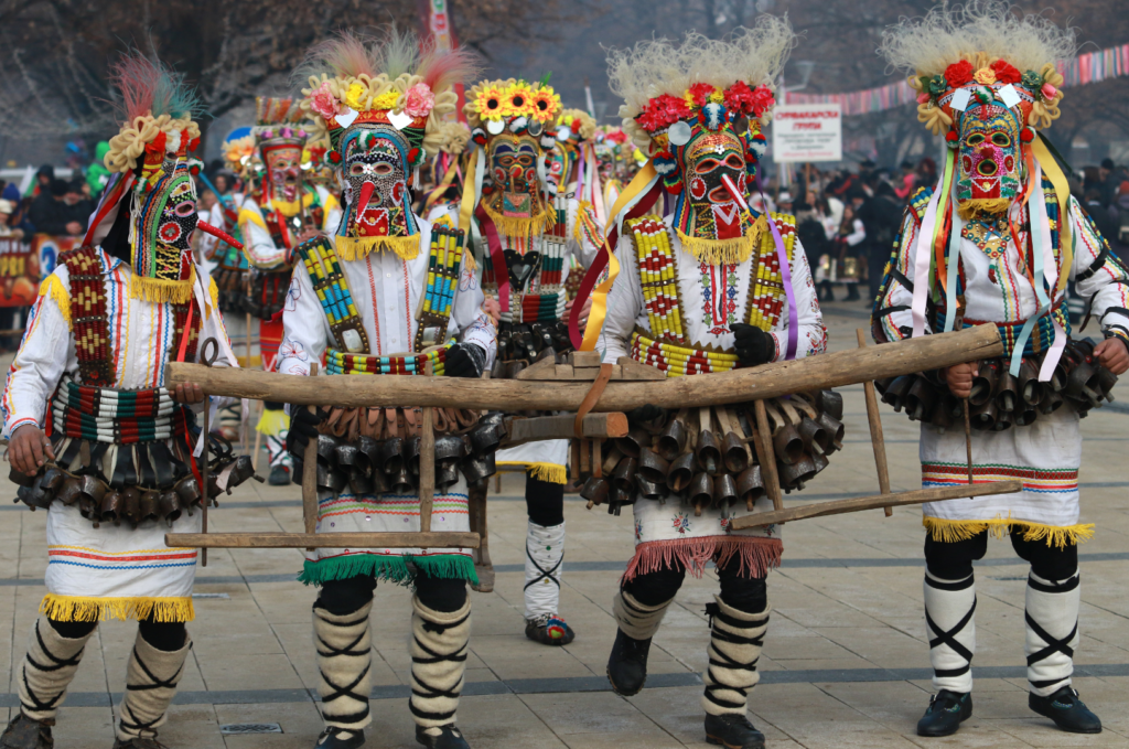 Кукерство - един от традиционните български обичаи