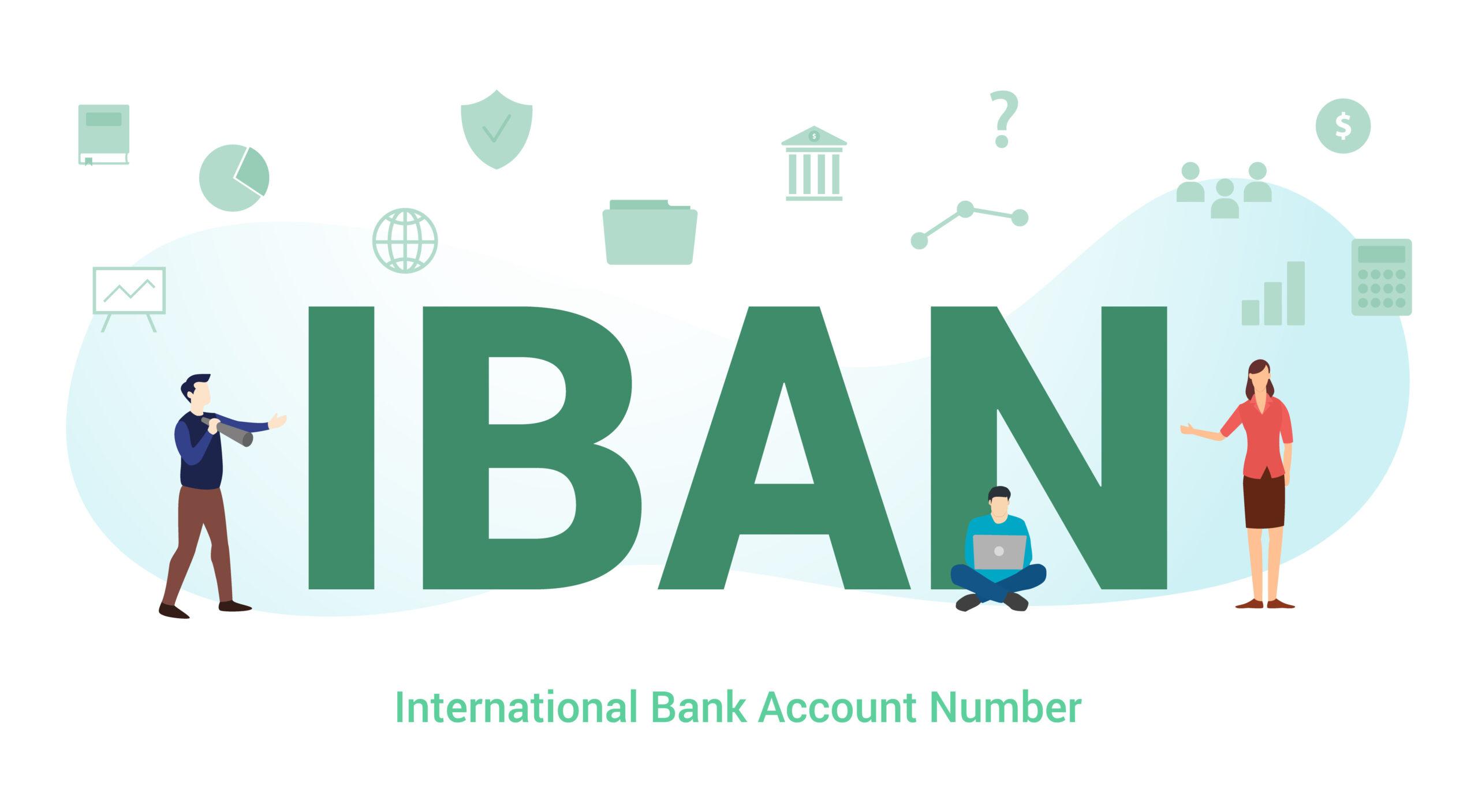 Какво е номер на банкова сметка - IBAN?