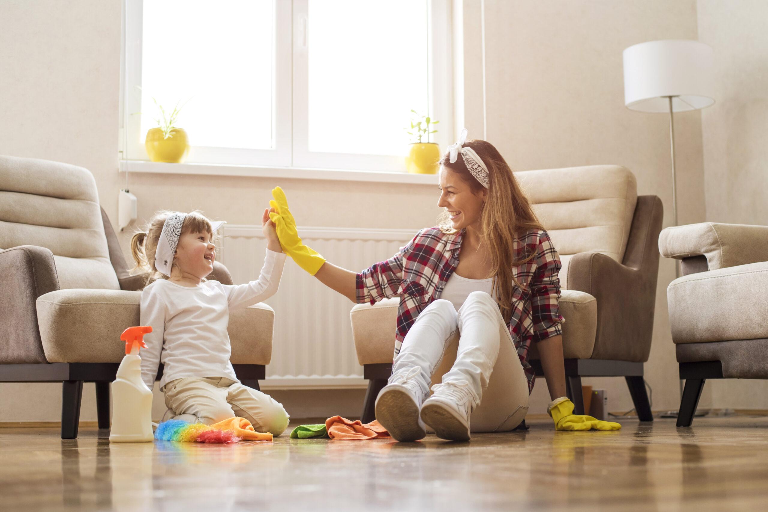 Съвети за пролетно почистване на дома