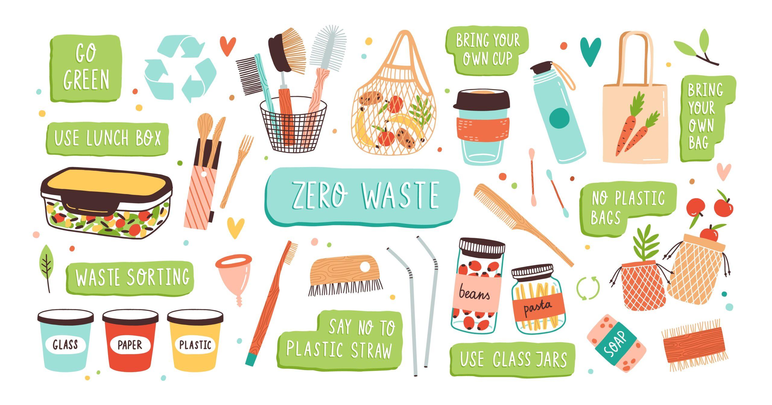 Защо да използваме продукти за многократна употреба?
