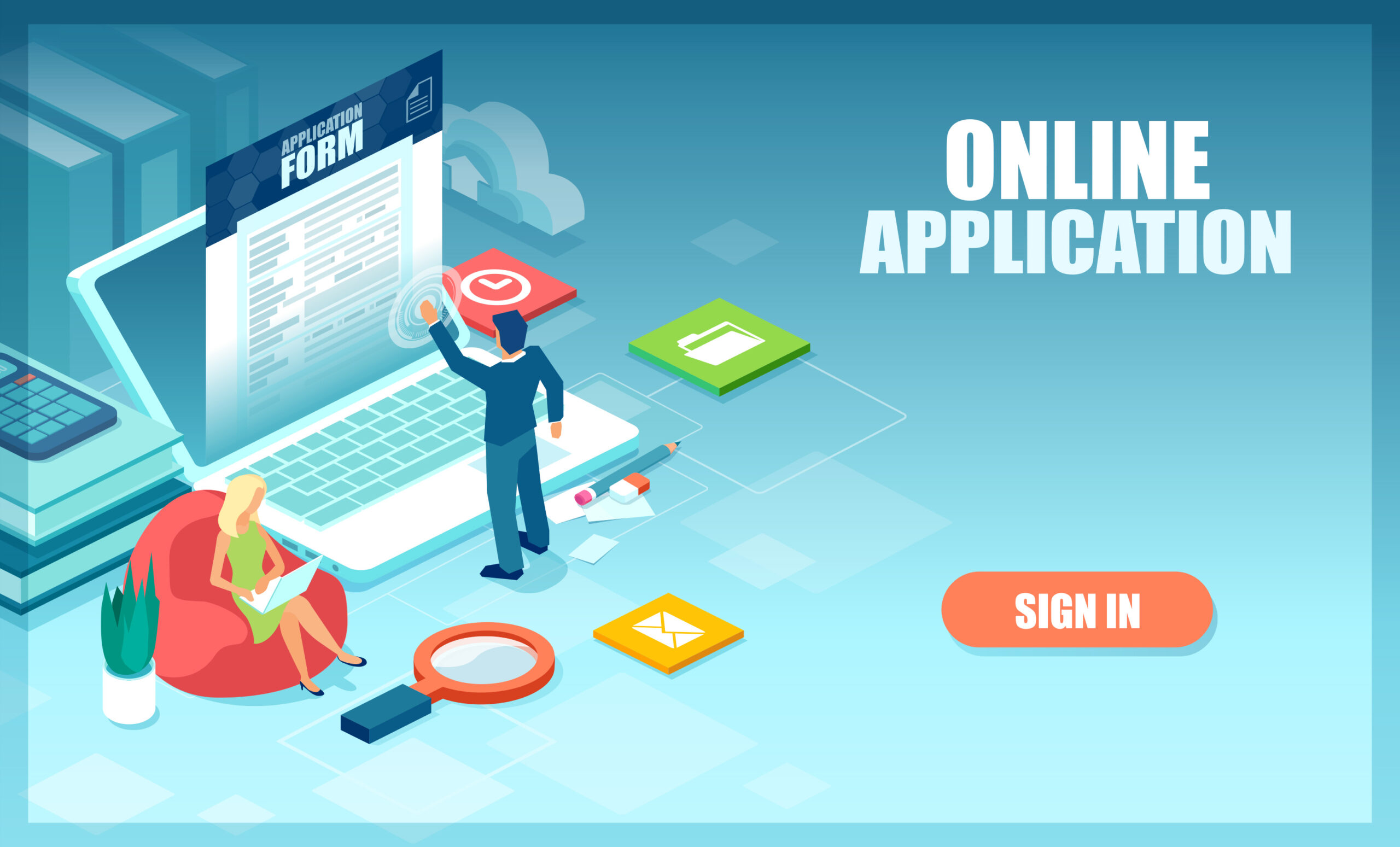 Попълване на заявка за бърз заем онлайн