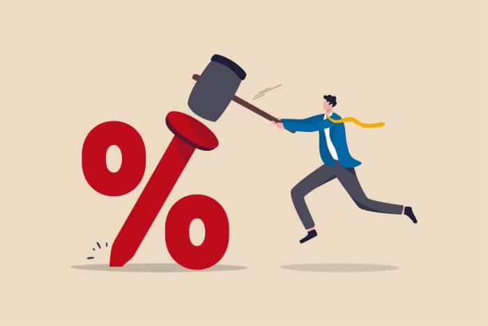 Показване на процент по лихвите на изтеглен кредит