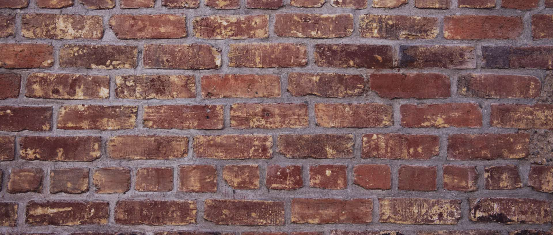 Photo of a brick wall background