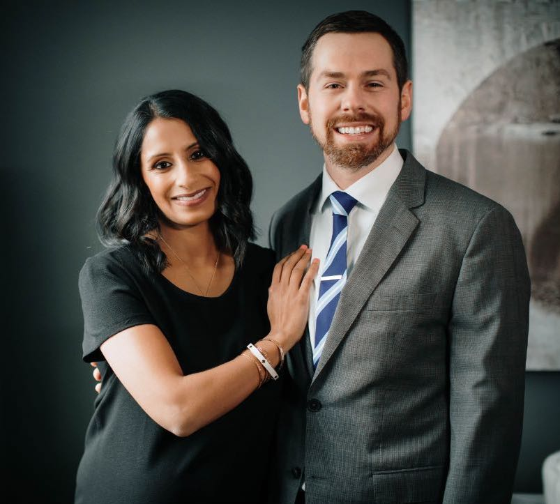 Photo of Dr. Ritter and his wife Dr. Saleha
