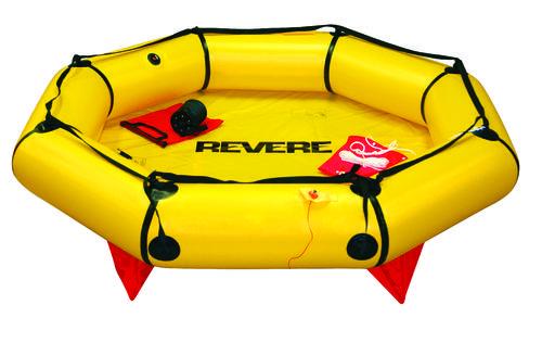 Revere Coastal Compact Life Raft