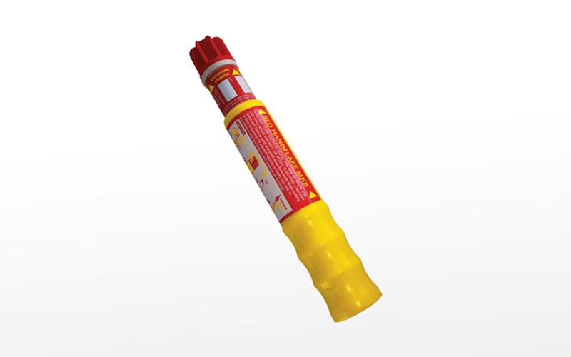 Red Handflare Mk8