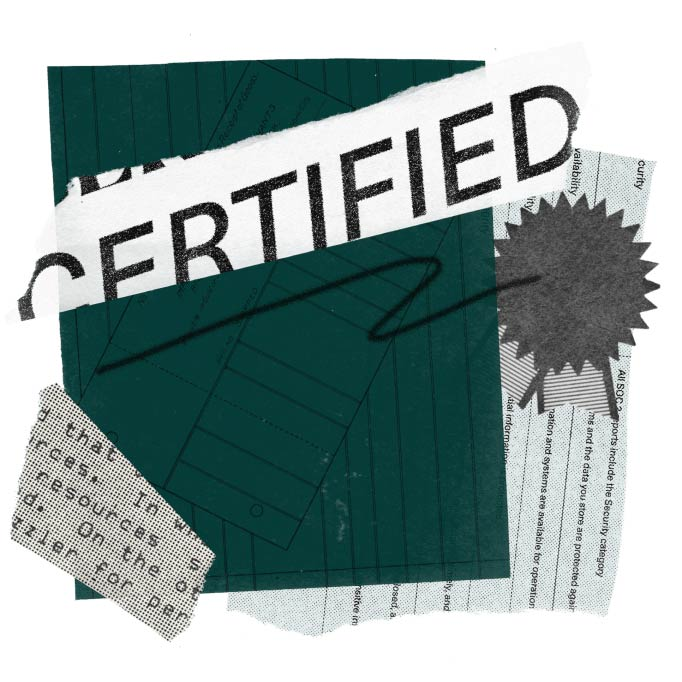 Security and compliance certified