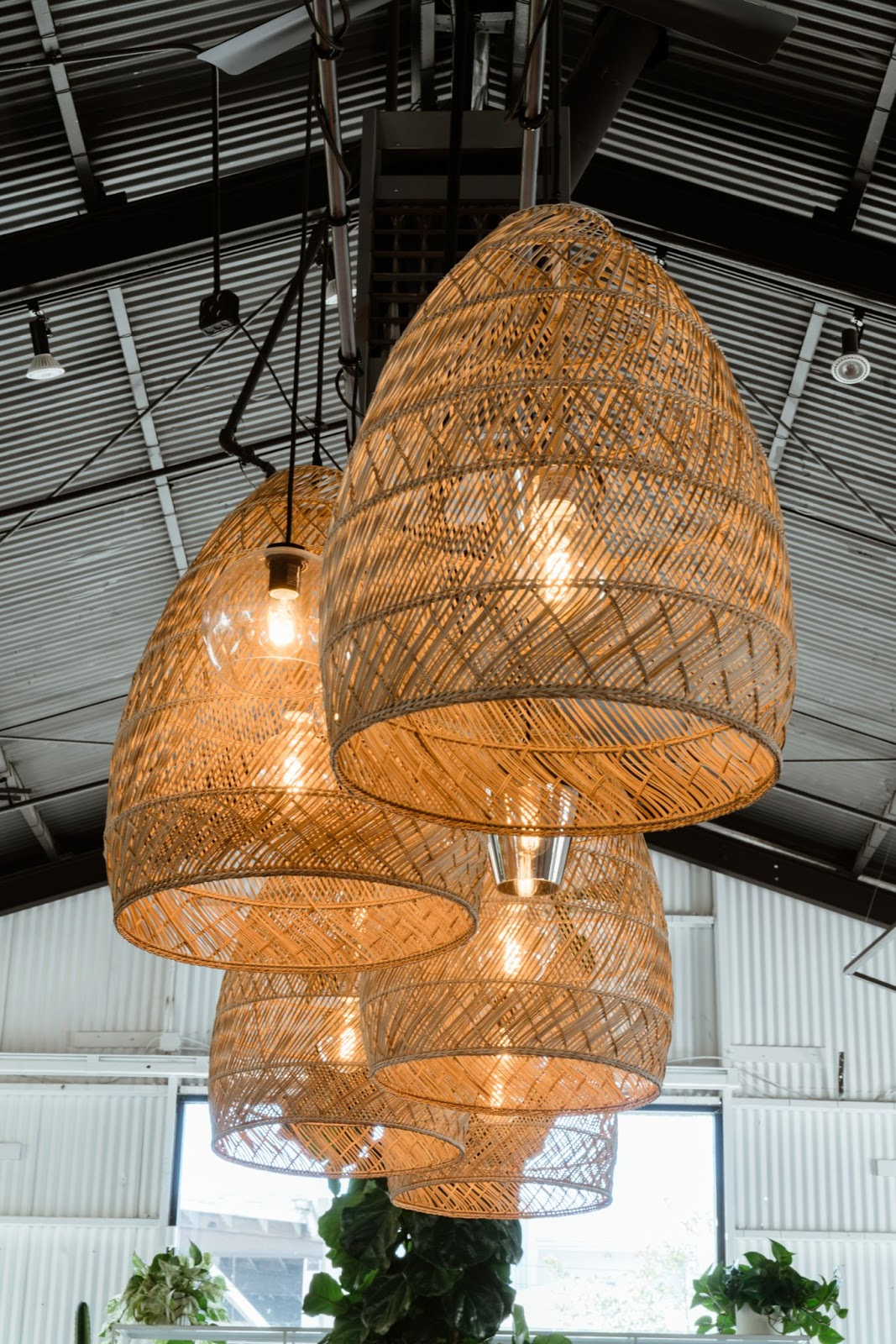 wave house lamps