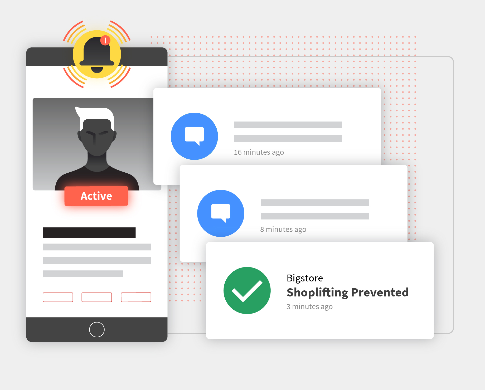 Auror prevents crime by alerting your staff to potential criminal activity