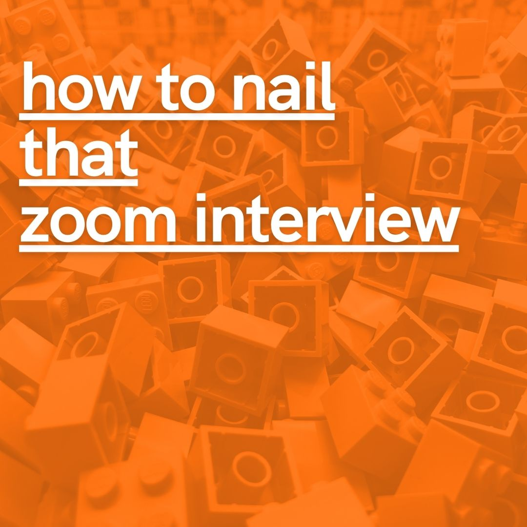 How to nail that Zoom interview