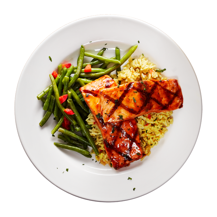 Salmon Entree from a profitable restaurant franchise