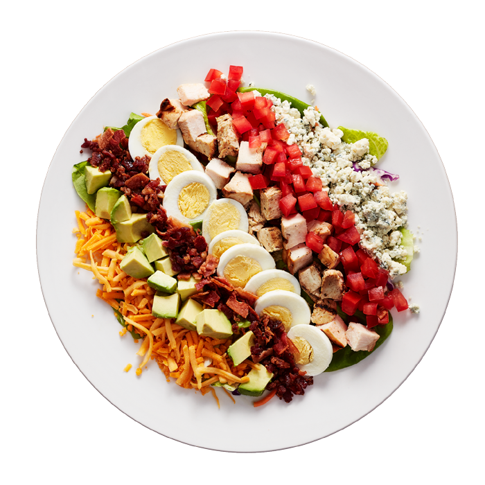salad from an emerging restaurant franchise