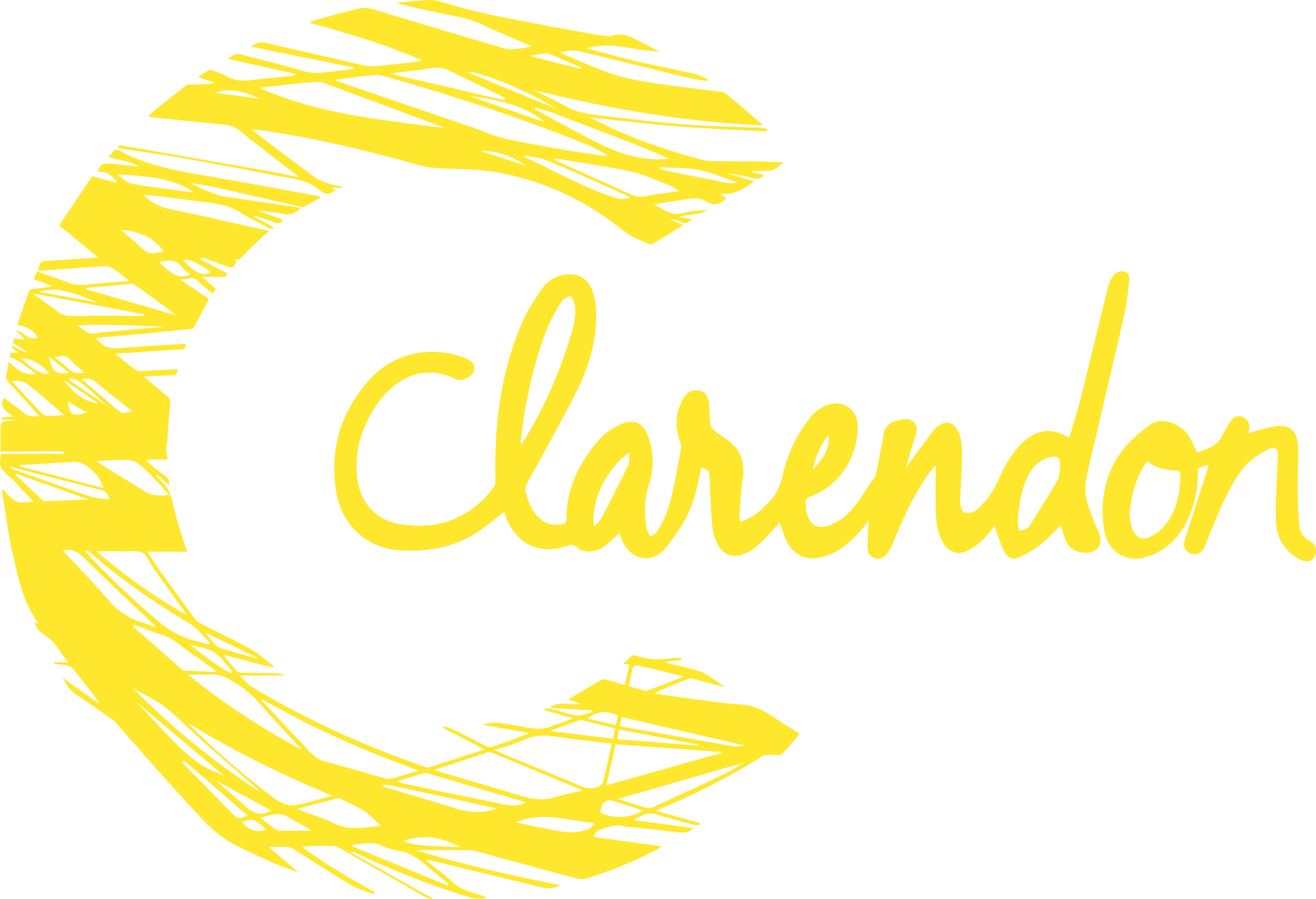The Clarendon Centre Logo